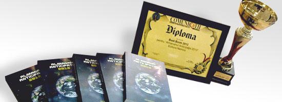 Almanahul Anticipația 2013 – Cea mai bună carte la Gala Comunicații Mobile
