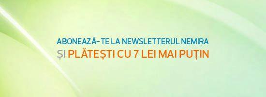 Te abonezi la newsletterul Nemira şi ai reducere