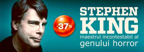 Stephen King, maestrul incontestabil al genului horror