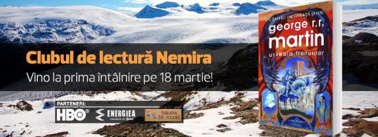 Clubul de lectură Nemira – Vino la prima întâlnire pe 18 martie!