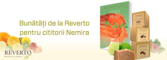 Bunătăţi de la Reverto pentru cititorii Nemira