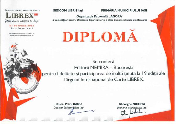Premiaţi la Librex Iaşi