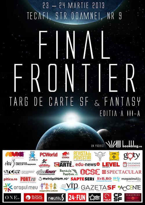 Vă aşteptăm la Final Frontier!