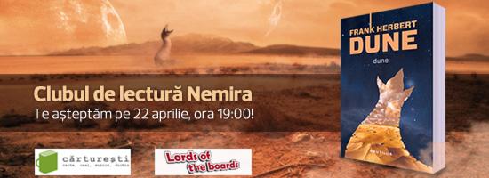 Nemira vă invită la Clubul de Lectură al lunii aprilie!
