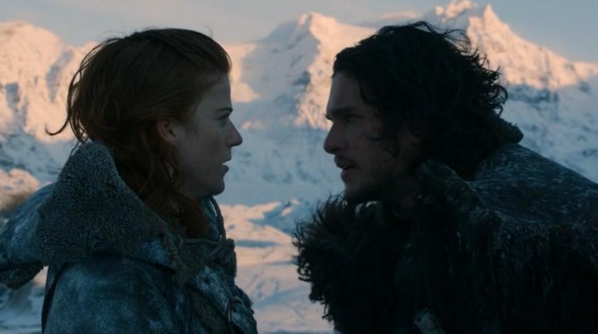 Cum este un sărut al focului în Westeros?