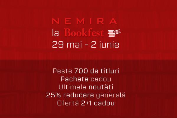 Editura Nemira participă la Bookfest 2013