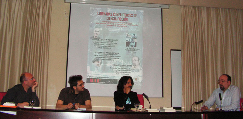 Gheorghe Săsărman, omagiat la Madrid în cadrul Primului Congres al literaturii SF
