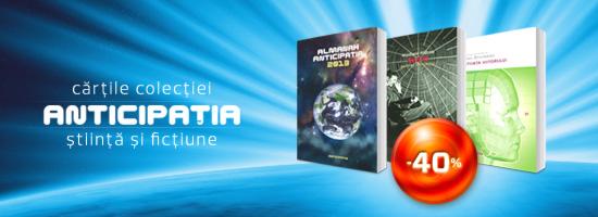 Colecţia Anticipaţia, ştiinţa şi literatura viitorului
