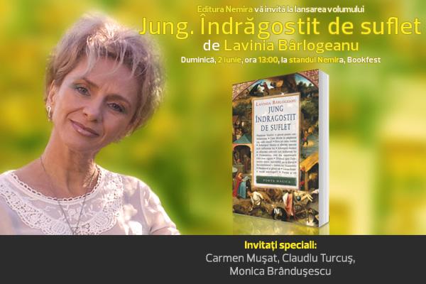 """Nemira lansează """"Jung. Îndrăgostit de suflet"""" de Lavinia Bârlogeanu"""