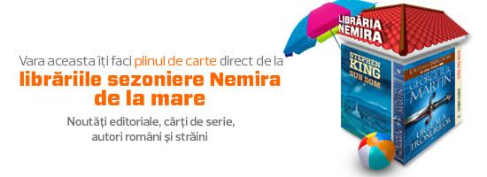 Vă aşteptăm în librăriile Nemira din 2 Mai şi Vama Veche!
