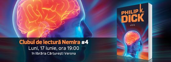 Clubul de lectură Nemira revine pe 17 iunie în librăria Cărtureşti Verona
