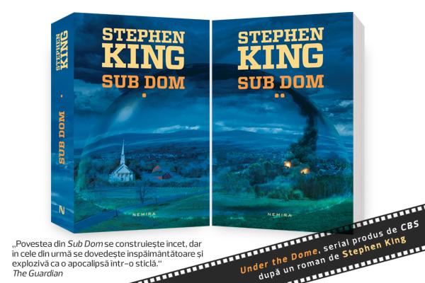 """A început serialul """"Under the Dome"""" după cartea lui Stephen King"""
