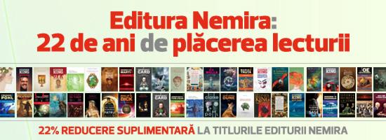 22 de ani cu Editura Nemira
