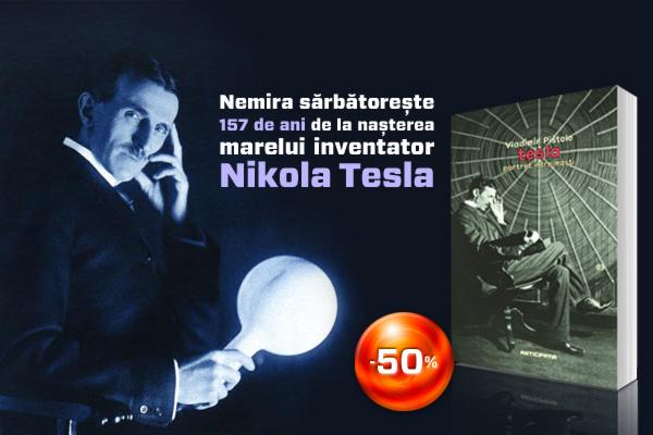 157 de ani de la naşterea inventatorului Nikola Tesla