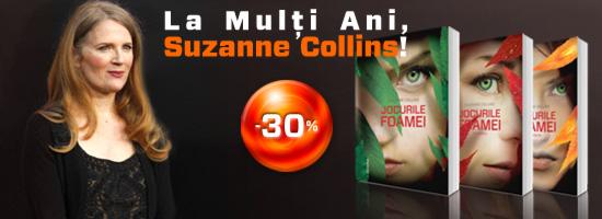 La mulţi ani, Suzanne Collins!
