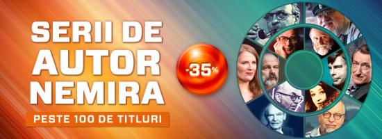 Serii de autor Nemira cu 35% reducere