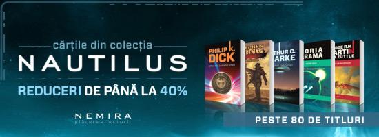 Colecţia Nautilus, esenţa SF-ului mondial