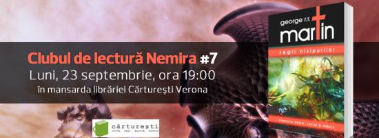 Ne vedem pe 23 septembrie la prima ediţie de toamnă a Clubului de lectură Nemira