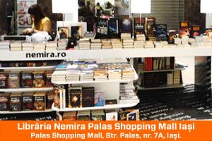 Librăria Nemira din Palas Shopping Mall Iaşi