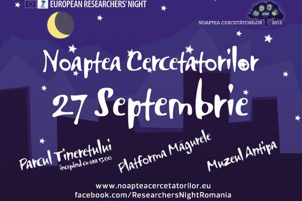 Harta europeană a științei la Noaptea Cercetătorilor, un eveniment pentru minți curioase
