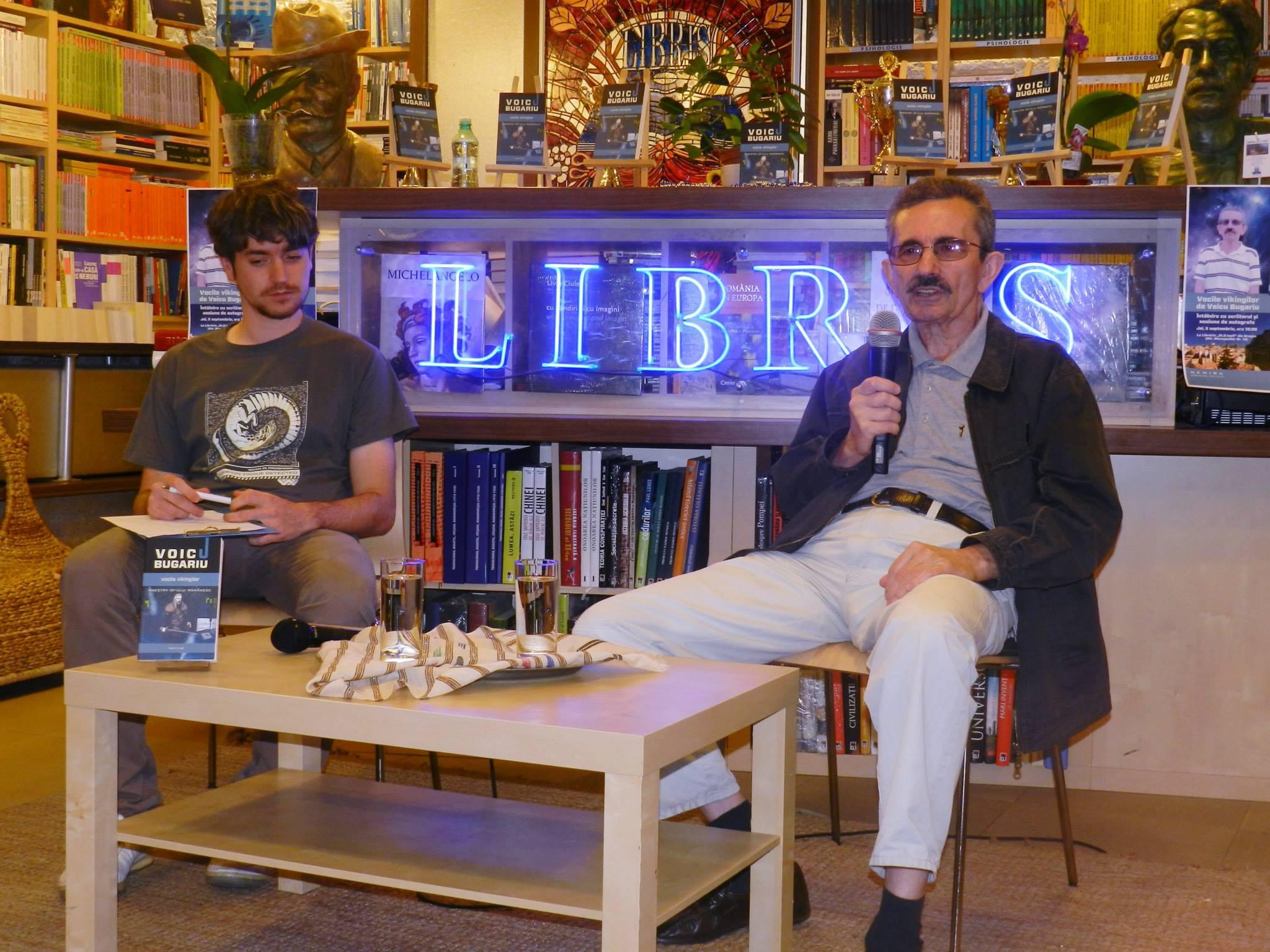 Voicu Bugariu şi literatura SF