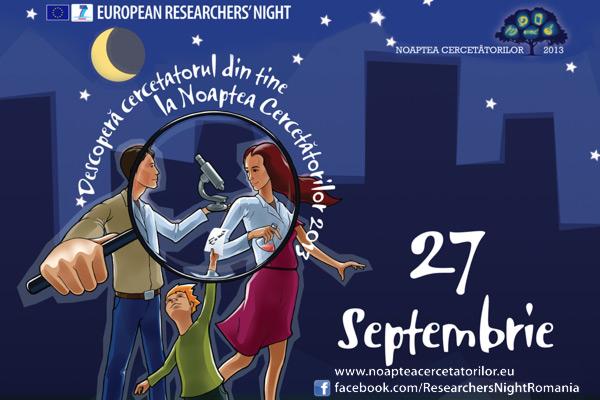 O noapte, peste 300 de orașe europene, sute de oameni de știință și experimente în direct la Noaptea Cercetătorilor 2013