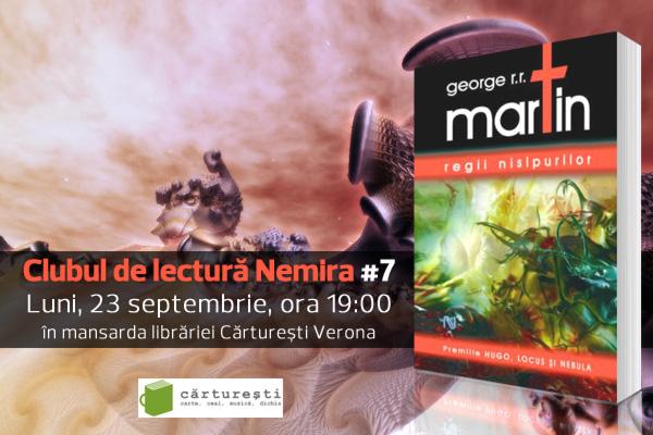 O altă față a lui George R.R. Martin, la Clubul de lectură Nemira