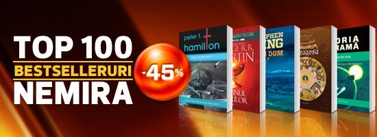 Top 100 bestselleruri Nemira