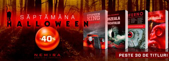 O săptămână de groază! Halloween-ul revine!