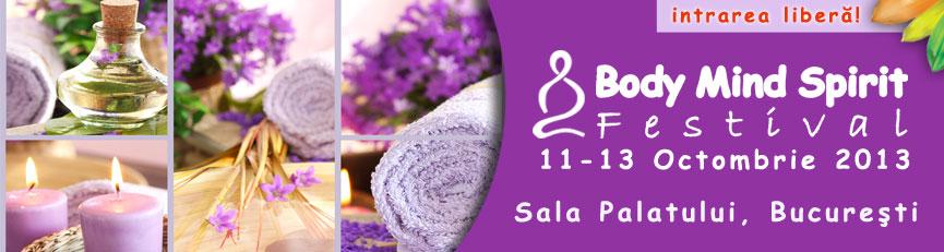 Body Mind Spirit Festival  revine pe 11 octombrie
