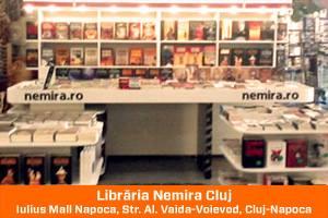 Librăria Nemira Cluj din Iulius Mall Napoca