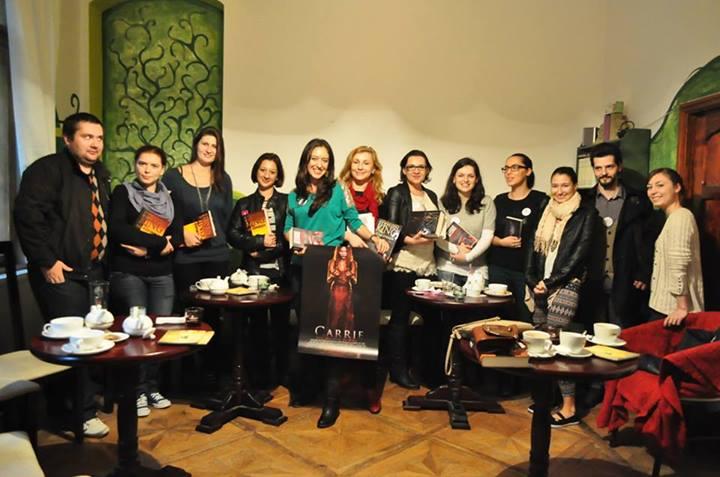 "Serial Readers şi Editura Nemira au ""tranşat"" literatura horror"