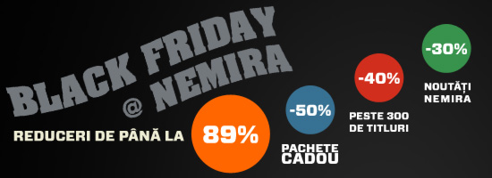 Black Friday la Editura Nemira