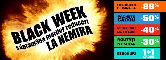 Săptămâna marilor reduceri la Editura Nemira