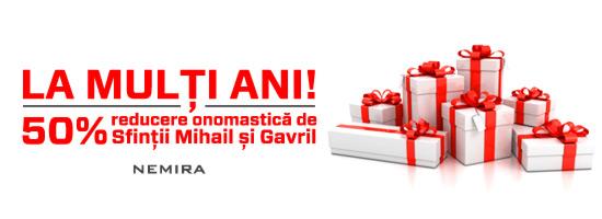 Editura Nemira îţi oferă un cadou de Sfinţii Mihail şi Gavril