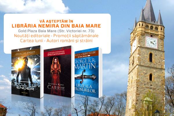 Editura Nemira deschide o librărie în Baia Mare