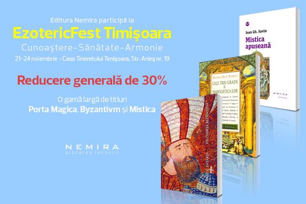 Editura Nemira participă la EzotericFest 2013