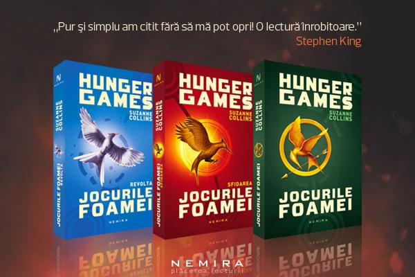 Jocurile Foamei – acum într-un nou format paperback