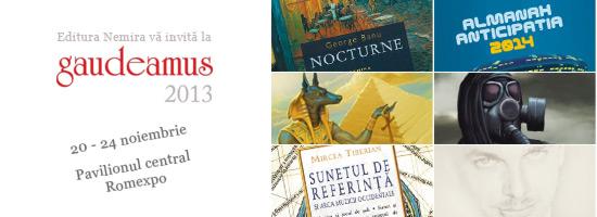 Surprizele Editurii Nemira la Gaudeamus 2013