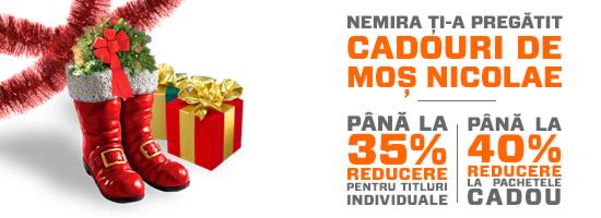 Editura Nemira îţi pregăteşte cadourile de Sf. Nicolae