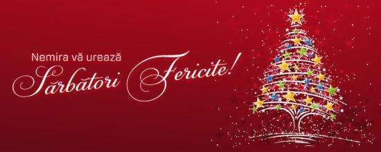 Editura Nemira vă urează Sărbători Fericite!