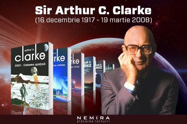 Sir Arthur C. Clarke la Clubul de lectură Nemira