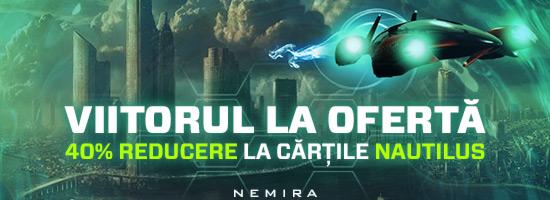 În colecţia Nautilus, viitorul este la ofertă!