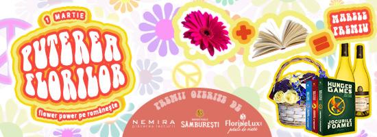 De 1 martie, facem flower-power pe româneşte!
