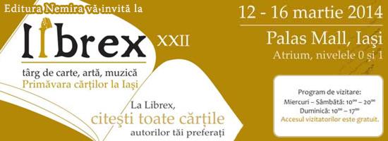 Nemira @ Librex Iaşi + alte surprize de weekend!