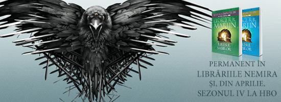 Numărătoarea inversă a început: O LUNĂ până la debutul sezonului 4 Game of Thrones!