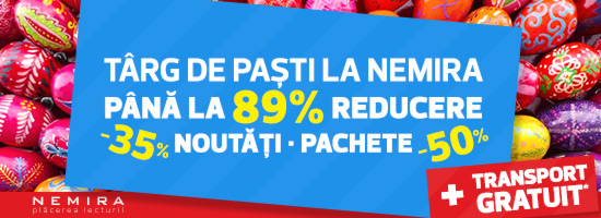 Editura Nemira vă urează un simplu şi sincer Paşte fericit!