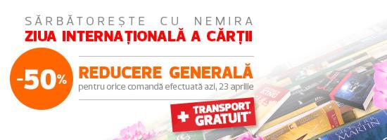 Status: participă la concursul Nemira de Ziua Internațională a Cărții!