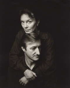 NPG x45381; Julian Patrick Barnes and his wife Pat Kavanagh by Jillian Edelstein