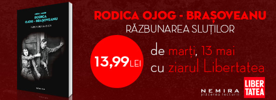 """Seria Rodica Ojog-Braşoveanu la final: de mâine, """"Răzbunarea sluţilor"""" apare la chioşcurile de presă!"""